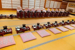 Japan, Koya-san, vegetarisches Abendessen im Tempel
