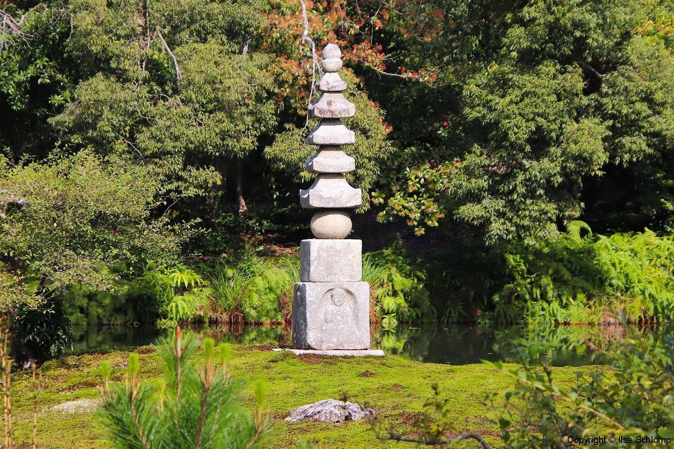 Japan, Kyoto, Kinkaku-ji Tempelpark