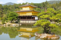 Japan, Kyoto, Goldener Pavillon
