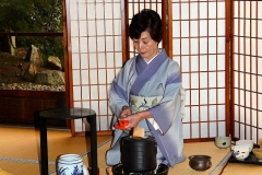Japan, Kyoto, Teezeremonie