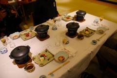 Japan, Kyoto, Shabu Shabu Abendessen