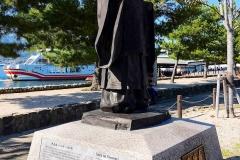 Japan, Miyajima, Denkmal Taira no Kiyomori