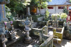 Japan, Nagasaki, Sofuku-ji Tempel, Friedhof