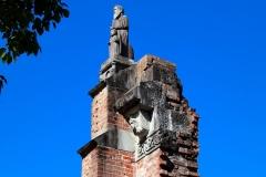 Japan, Nagasaki, Friedenspark, Atombombenhypozentrum, Ruinen der Urakami Kathedrale