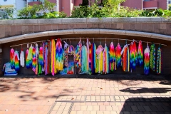 Japan, Nagasaki, Friedenspark, Origami-Papierkraniche