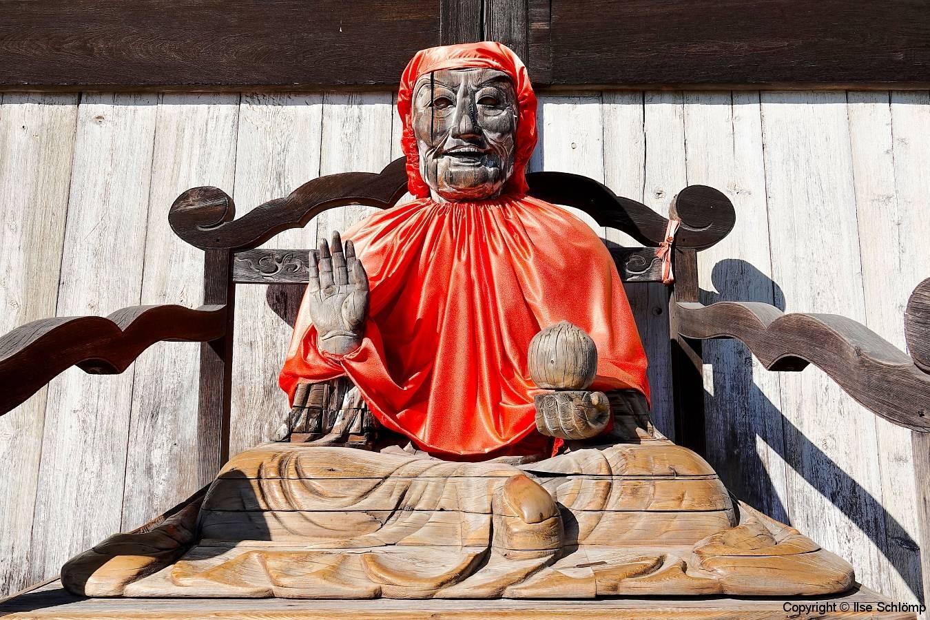 Japan, Nara, Todai-ji Tempel, Statue des Pindola