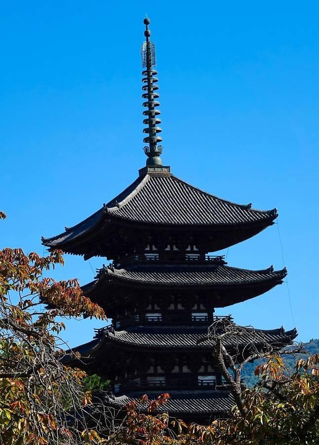 Japan, Nara, Kofuku-ji, Gojunoto