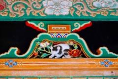 Japan, Nikko, Die schlafende Katze