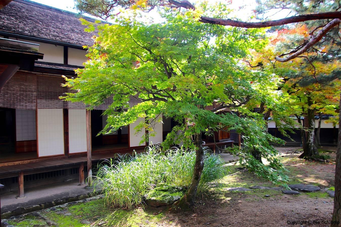 Japan, Takayama Jin'ya, Garten des Regierungsgebäudes