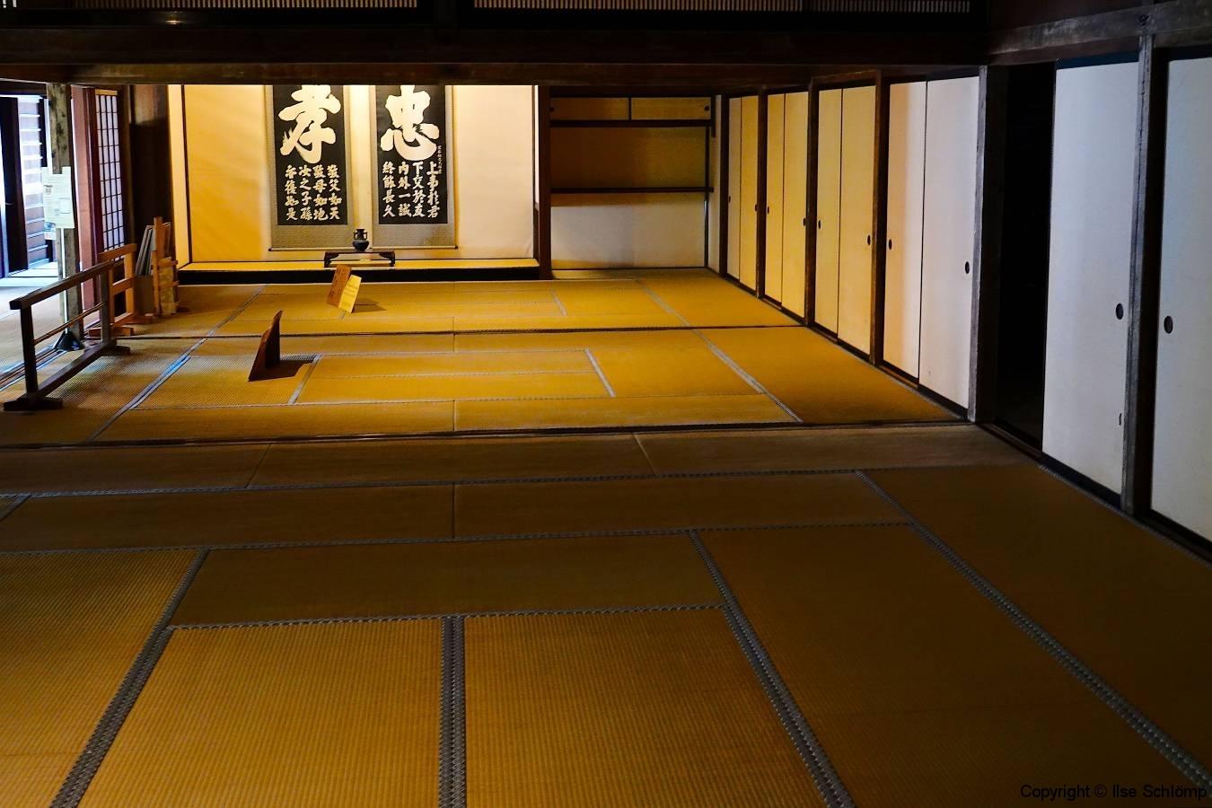 Japan, Takayama Jin'ya, Altes Regierungsgebäude, Versammlungshalle