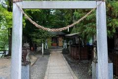 Japan, Hotaka, Daio Wasabi Farm, Daio-Schrein
