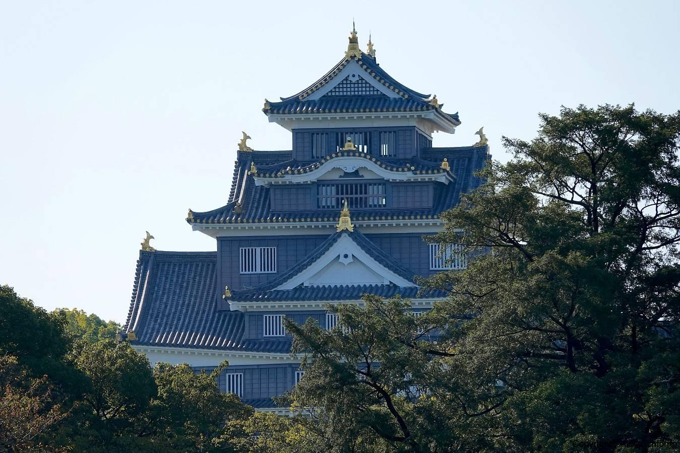 Japan, Okayama, Burg Okayama