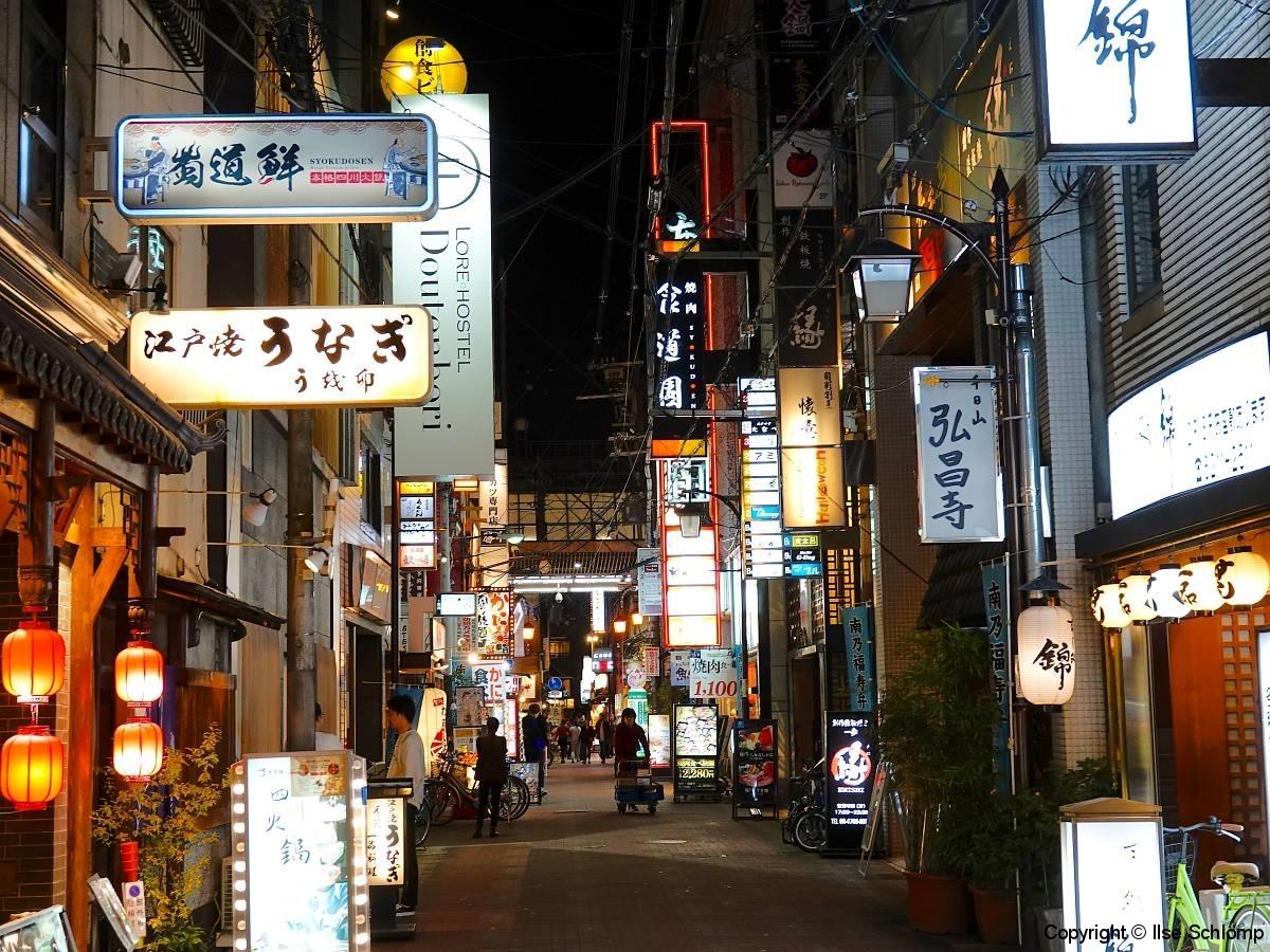 Japan, Osaka, Namba bei Nacht