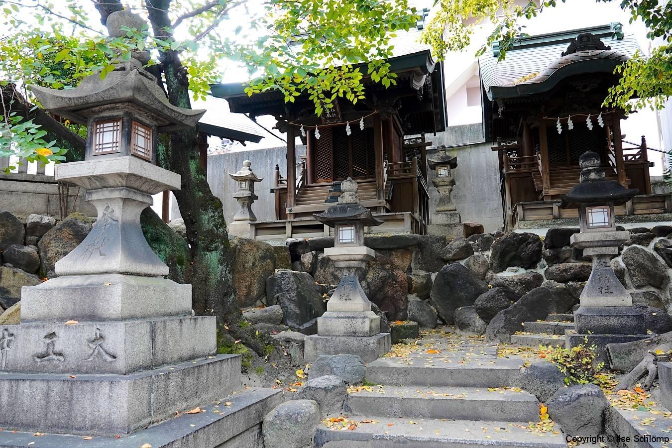 Japan, Osaka, Tenman-gu Schrein