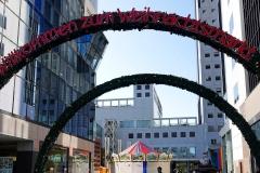 Japan, Osaka, Deutscher Weihnachtsmarkt am Umeda Sky Building