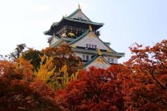 Japan, Osaka, Burg Osaka