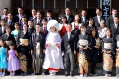 Japan, Osaka, Traditionelle Hochzeit