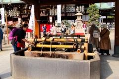Japan, Osaka, Tenman-gu Schrein, Chozu