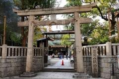 Japan, Osaka, Namba Yasaka-Schrein
