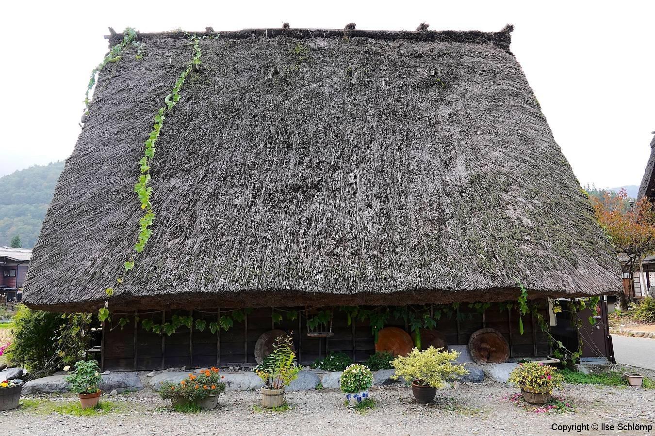 Japan, UNESCO Welterbedorf Shirakawago