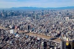 Japan, Tokio, Blick vom Skytree
