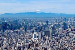 Japan, Tokio, Blick vom Skytree auf den heiligen Fuji