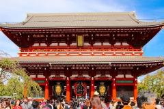 Japan, Tokio, Asakusa Kannon-Tempel
