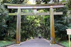 Japan, Tokio, Meiji-Schrein, Torii
