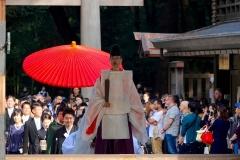 Japan, Tokio, Meiji-Schrein, Traditionelle Hochzeit