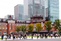 Japan, Tokio, Hauptbahnhof
