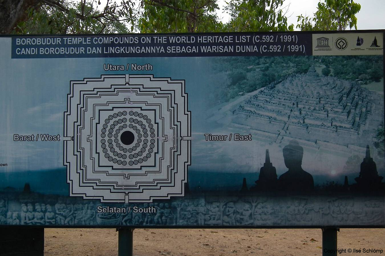 Java, Borobudur Tempelanlage