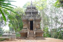 Java, Cangkuang-See, Candi Cangkuang Hindutempel