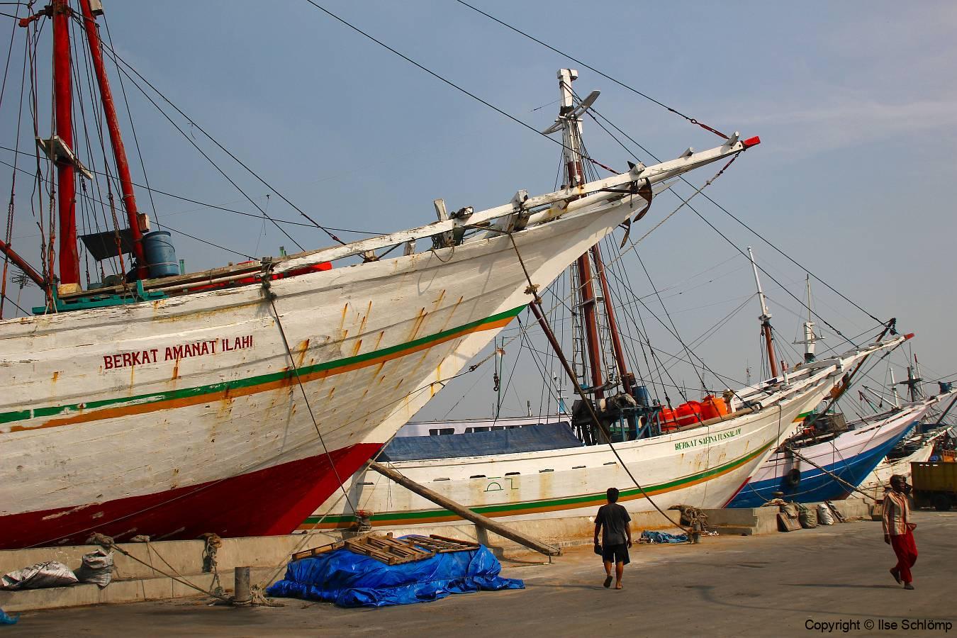 Java, Jakarta, Sunda Kelapa Handelshafen