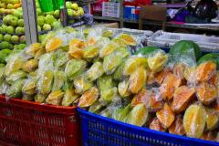 Java, Malang, Markt, Sternfrucht