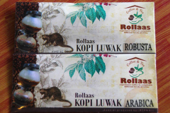 Java, Malang, Kopi Luwak, Schleichkatzenkaffee