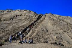 Java, Aufstieg zum Vulkan Mount Bromo