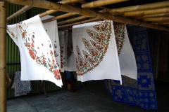 Java, Yogjakarta, Batik-Handwerk