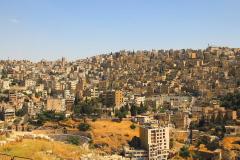 Jordanien, Blick von der Zitadelle auf Amman