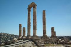 Jordanien, Amman, Herkulestempel