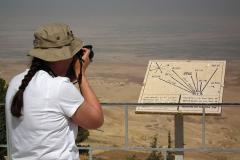Jordanien, Blick vom Berg Nebo in das Gelobte Land
