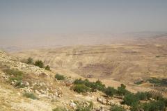 Jordanien, Blick vom Berg Nebo