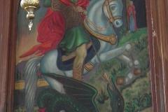 Jordanien, Madaba, St.-Georgs-Kirche, Heiliger Georg