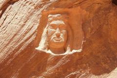 Jordanien, Wadi Rum, König Abdullah