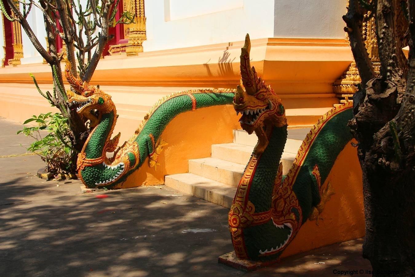 Laos, Vientiane, Wat Inpeng
