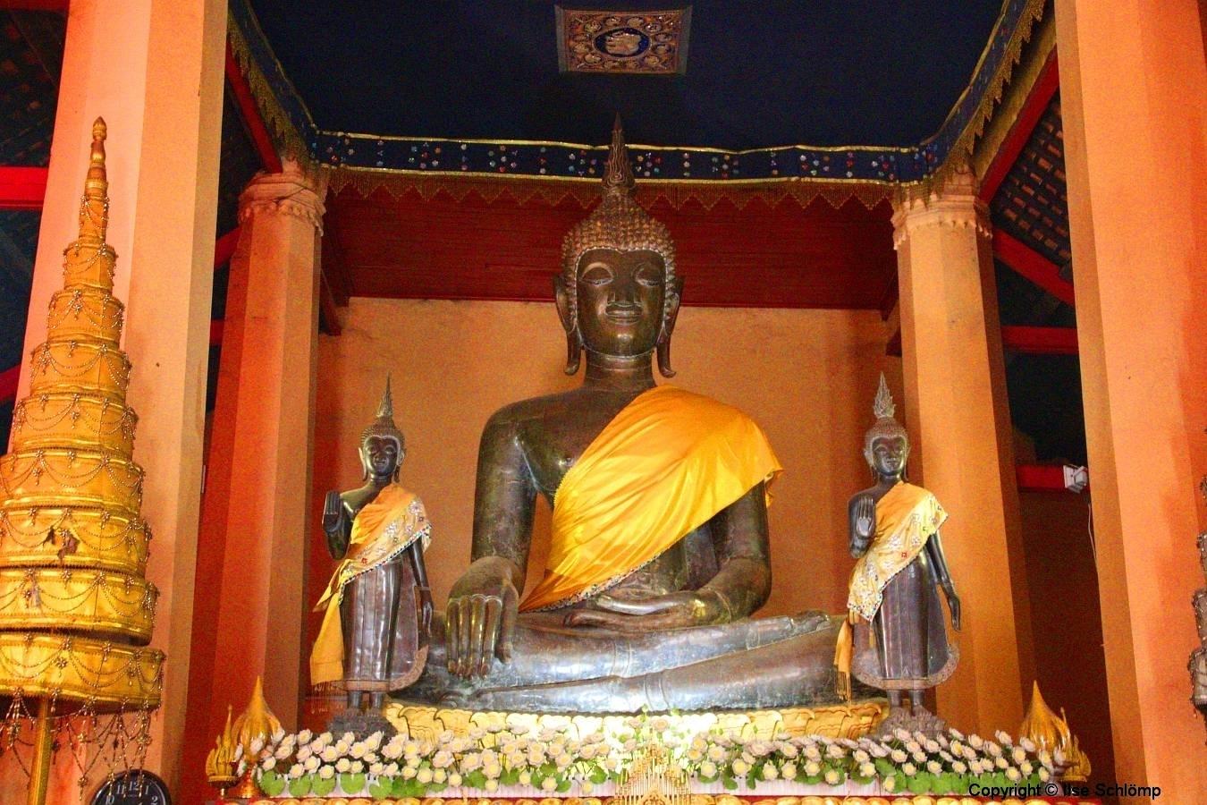 Laos, Vientiane, Wat Ong Teu