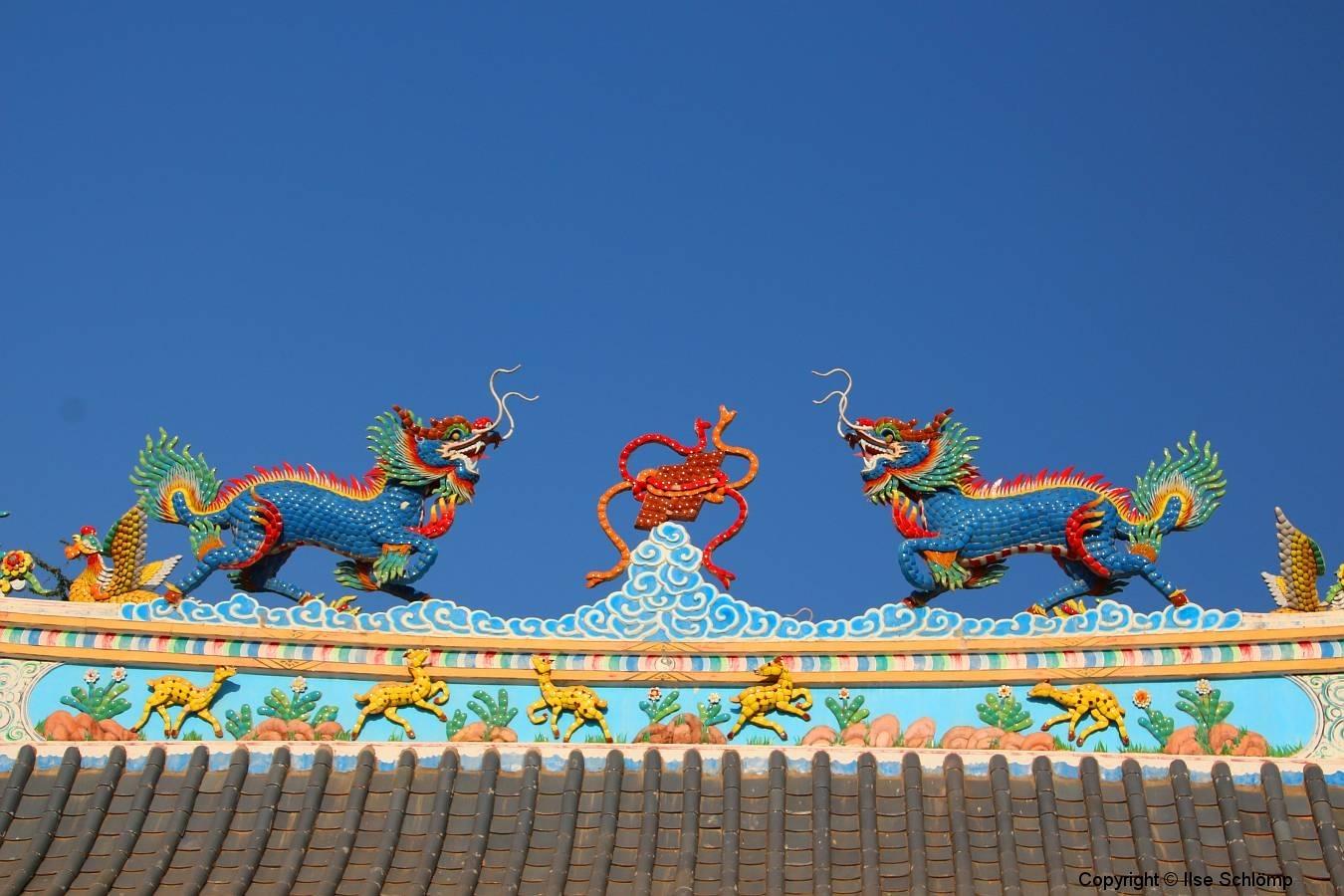 Laos, Vientiane, Chinesischer Tempel Ho Kang