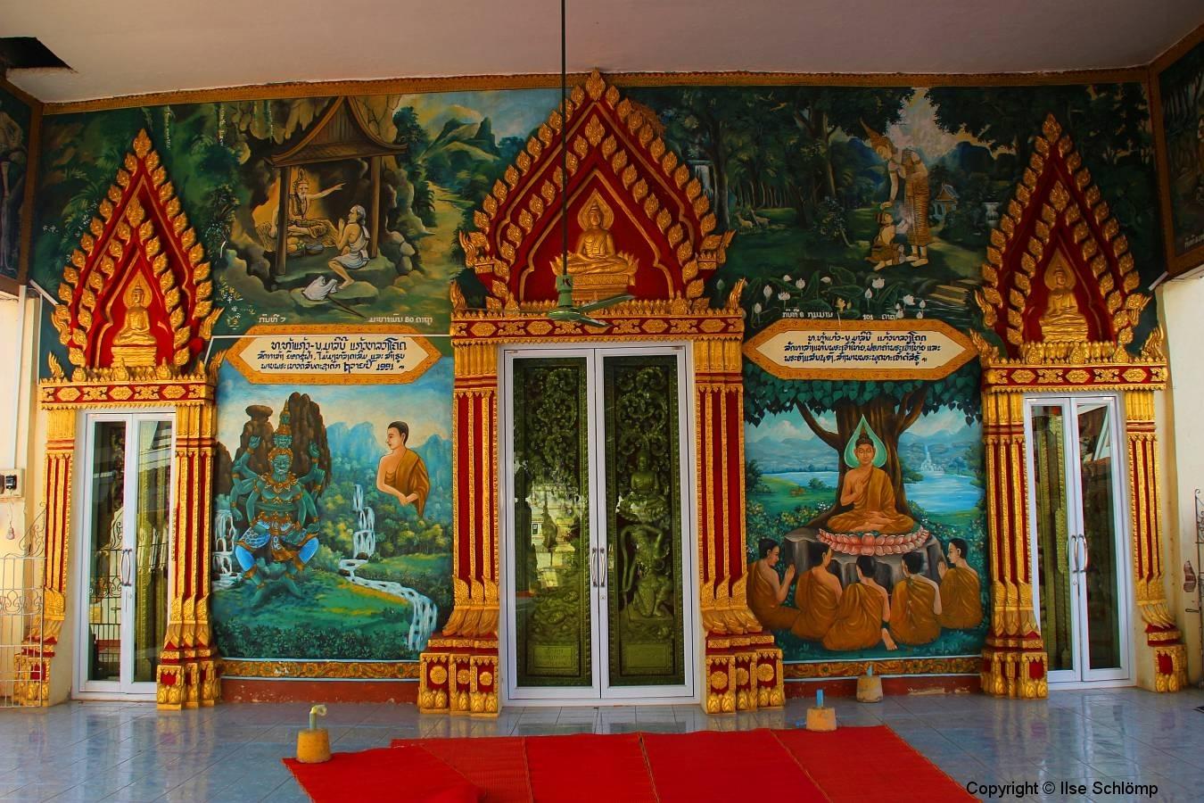 Laos, Vientiane, Wat Xieng Gneun