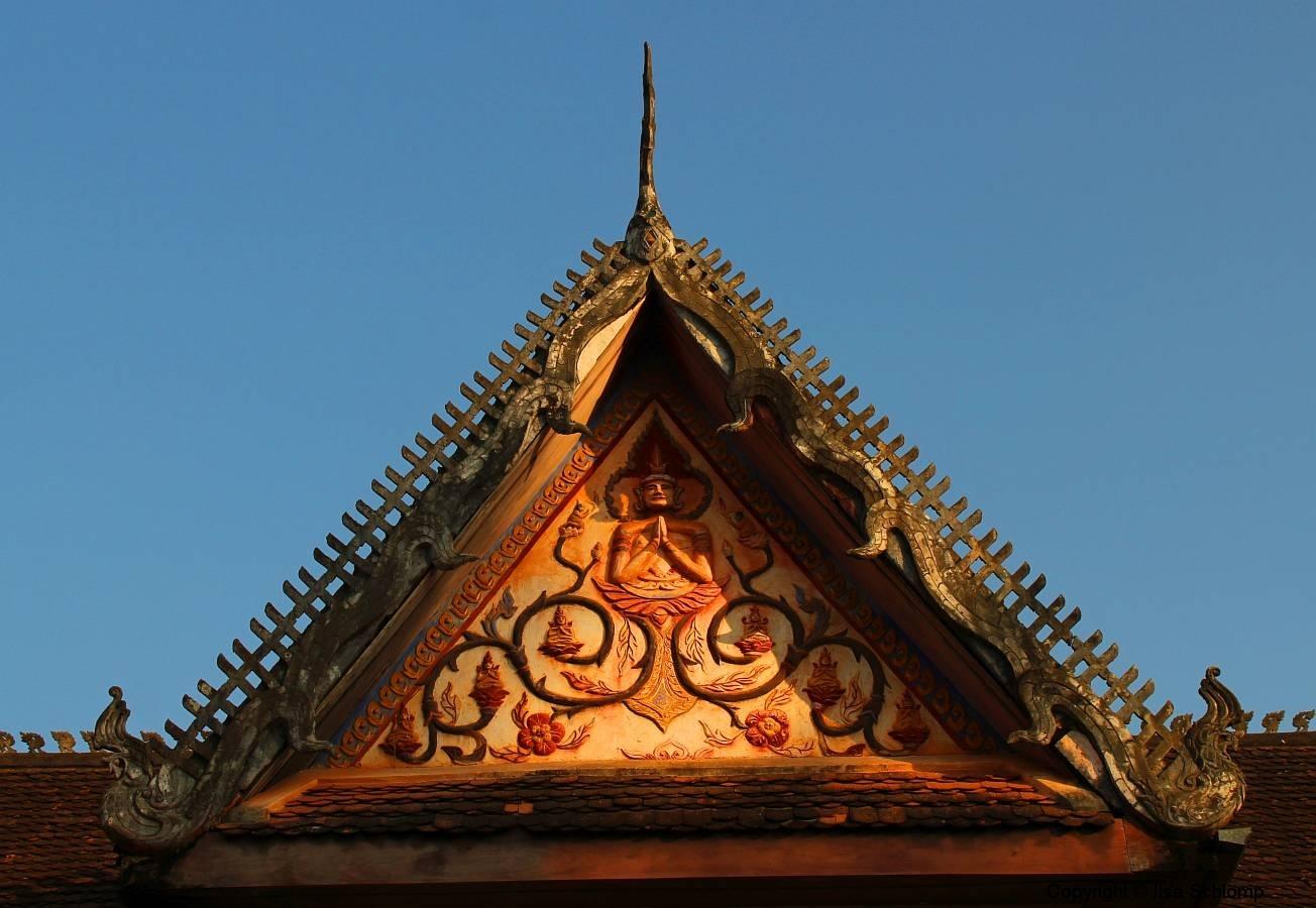 Laos, Vientiane, Wat Si Saket