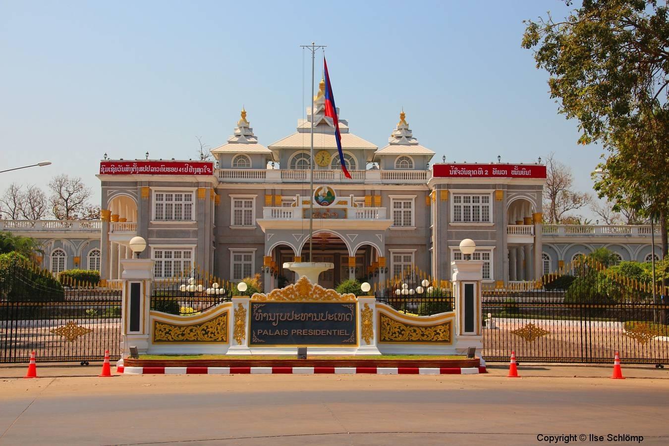 Laos, Vientiane, Präsidentenpalast