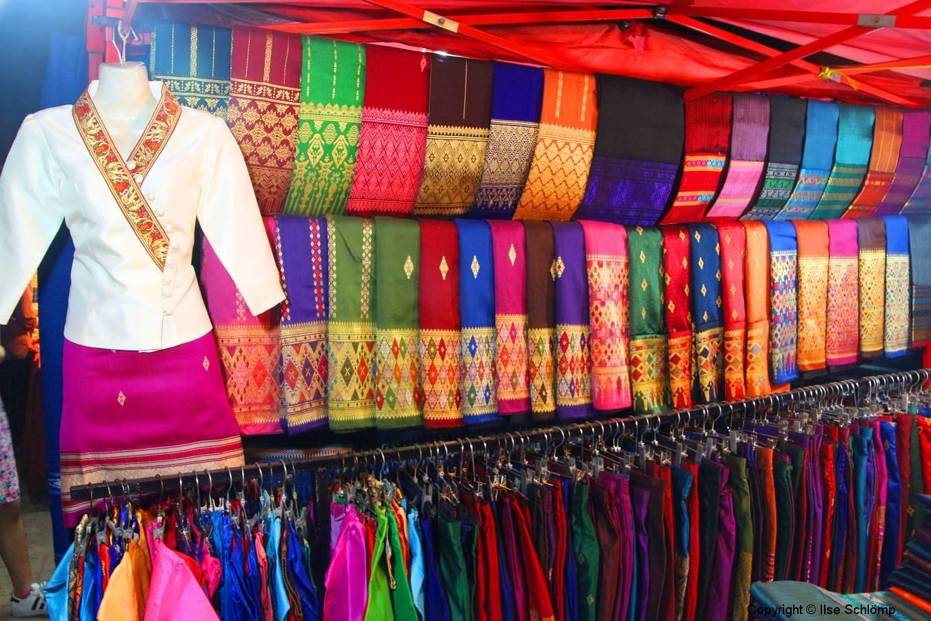 Laos, Vientiane, Nachtmarkt